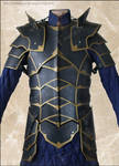 Black Knight Leather Armour