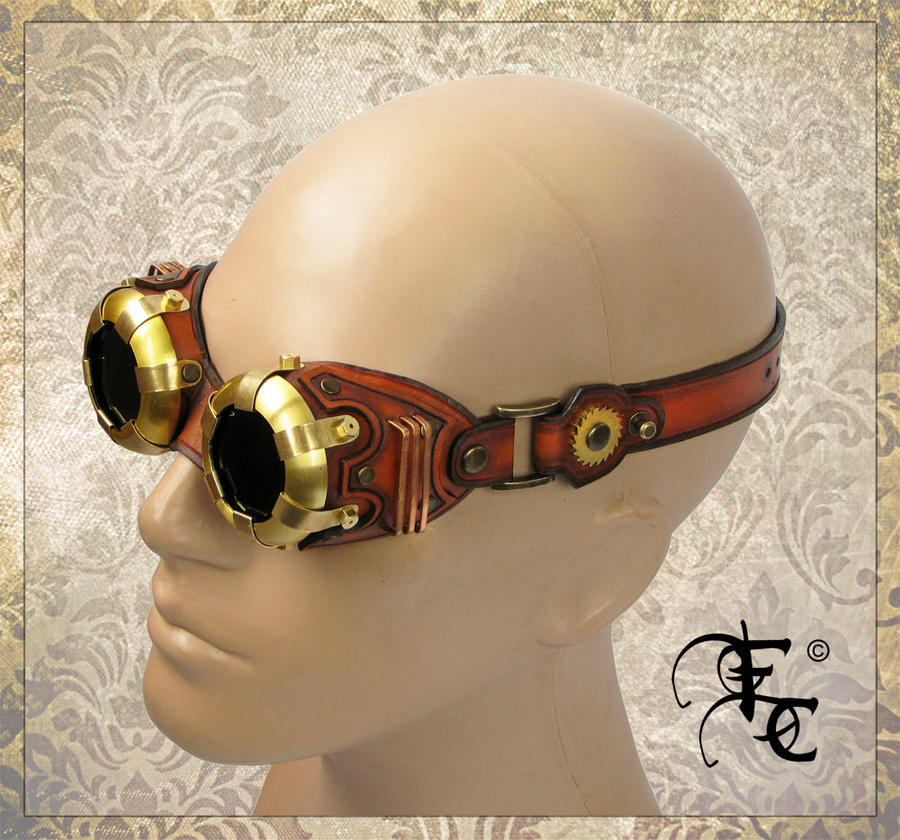 SteamPunk Goggles by Fantasy-Craft