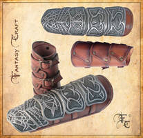 Altair vambraces from Assassin's creed by Fantasy-Craft