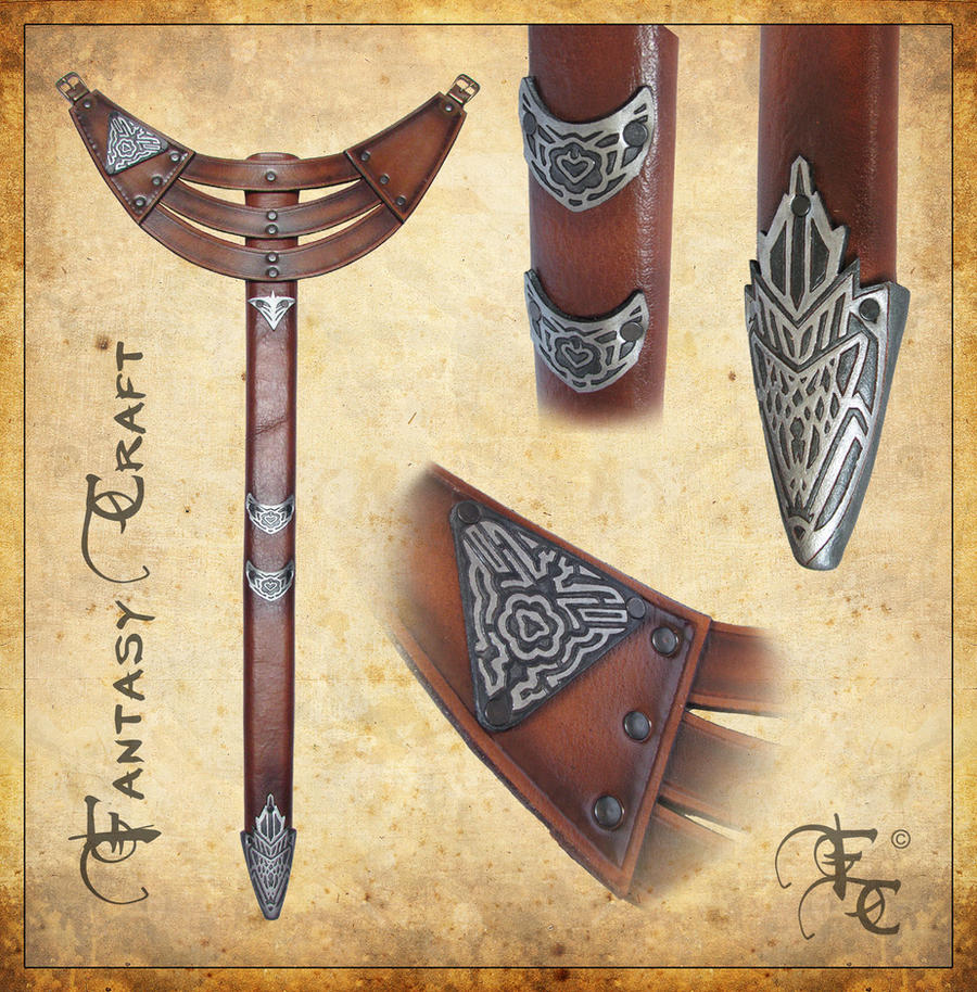 Assassin's creed scabbard by Fantasy-Craft