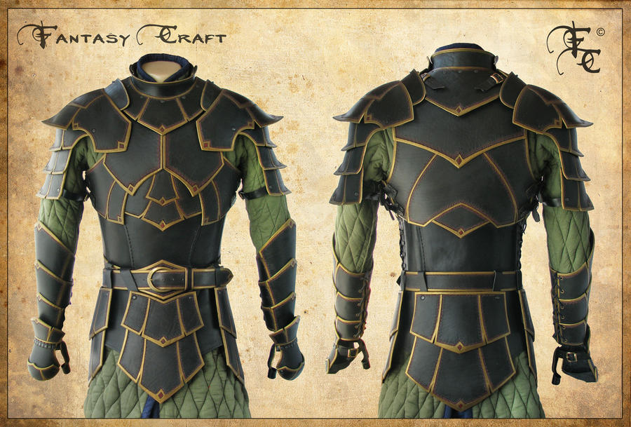 Fantasy leather armor by Fantasy-Craft