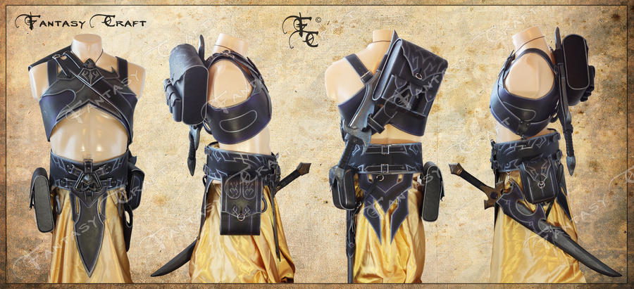 Dark Elf Assassin set by Fantasy-Craft