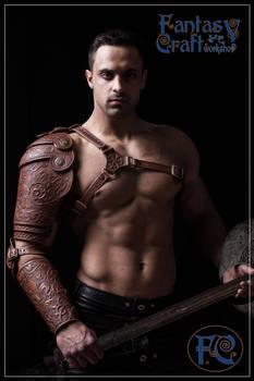 Leather armour set Aramis