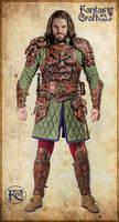Leather dragon armor