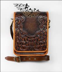 Leather shoulder, cross body, messenger bag