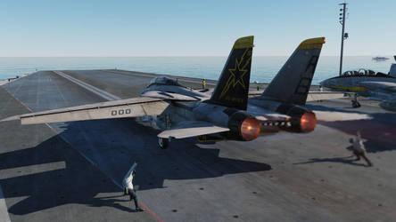 Tomcat Launching, Catapult Two