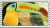 toucan stamp by batdanii