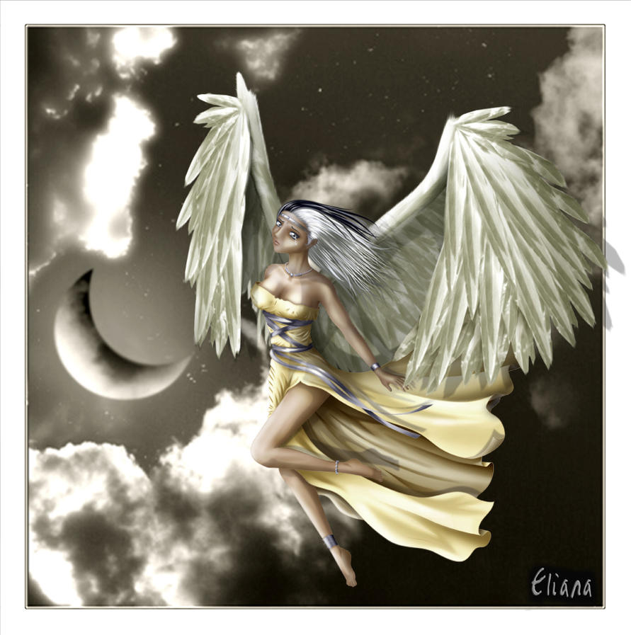 Angel by Eliana-Prog