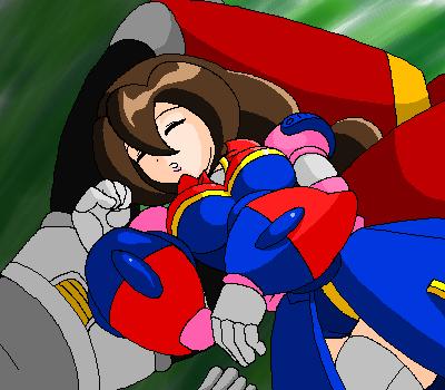 ZeroxIris oekaki - Summer nap by VR-Hyoumaru
