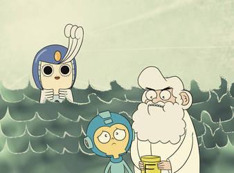 Mermaids are weird by VR-Hyoumaru