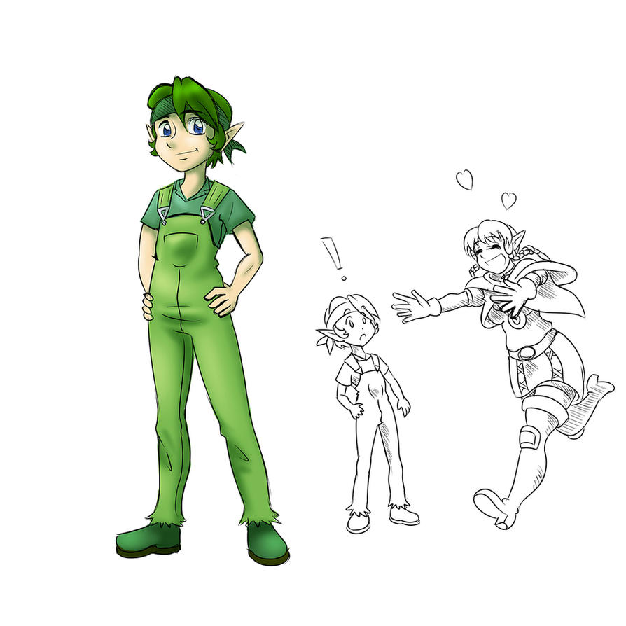 Linkle and Sora by Jet-Striker