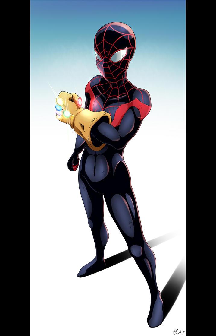 The Stranded Spider-Man by VR-Hyoumaru