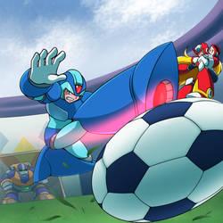 Rockman X Replievolution Soccer by VR-Hyoumaru