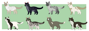 Cat Adopts :OPEN: by Lepeen