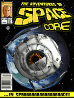 Space Core Comic Cover by deathonabun