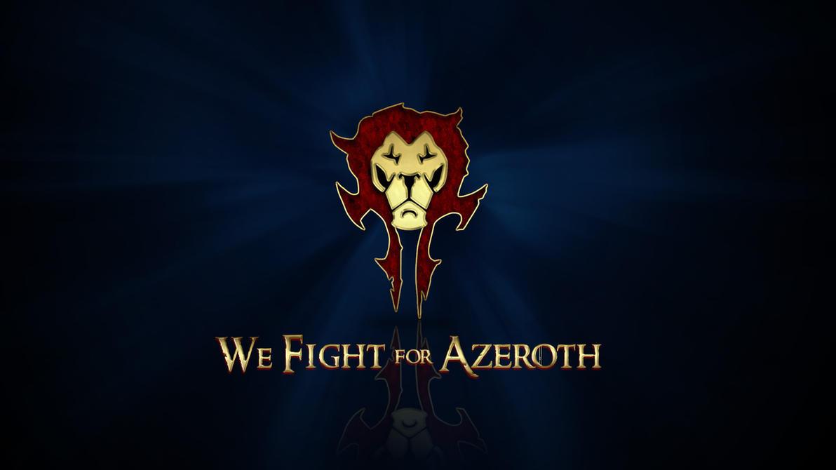 We Fight for Azeroth v2 by deathonabun