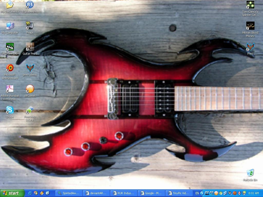Electric Guitar By Soreg