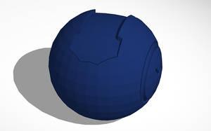 Halo 4 Plasma Grenade 3D CAD