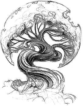 Tree sketch by RandyCalkins