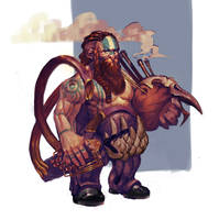 Dwarf Musician by Paco90Paco