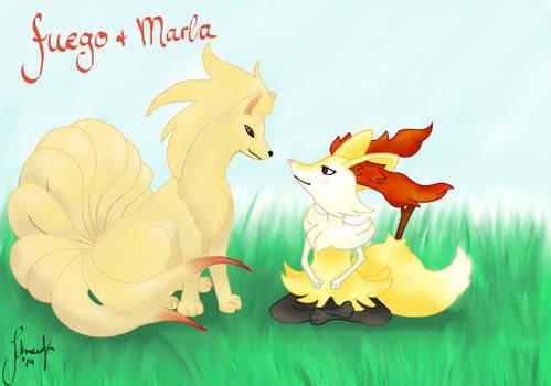 Marla+fuego Fanart for Marrilands Wonderwedlocke