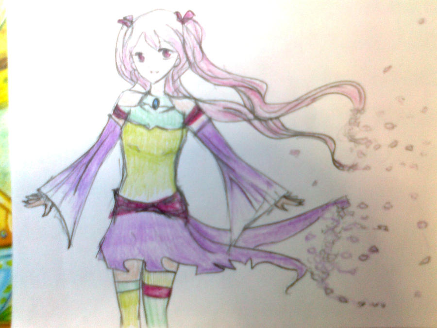 Ouka coloured by darkbutterflyz