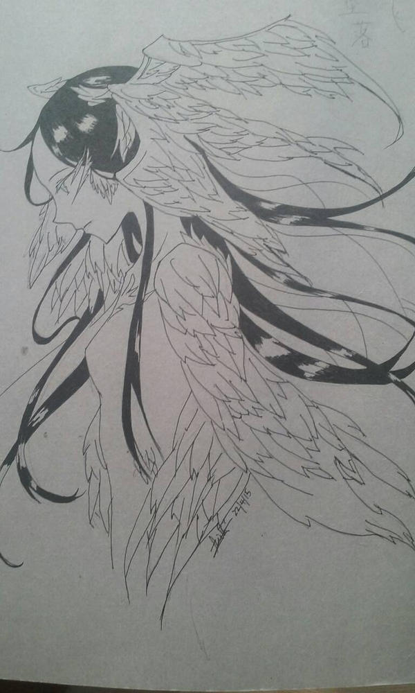Bird Woman by darkbutterflyz