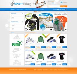 design for sport shoes eshop