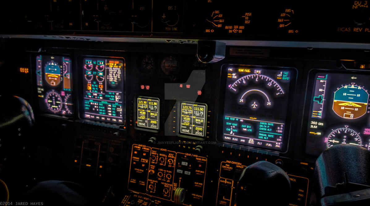 LR45 Cockpit HDR by jhayesflight