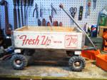 Custom built soda wagon
