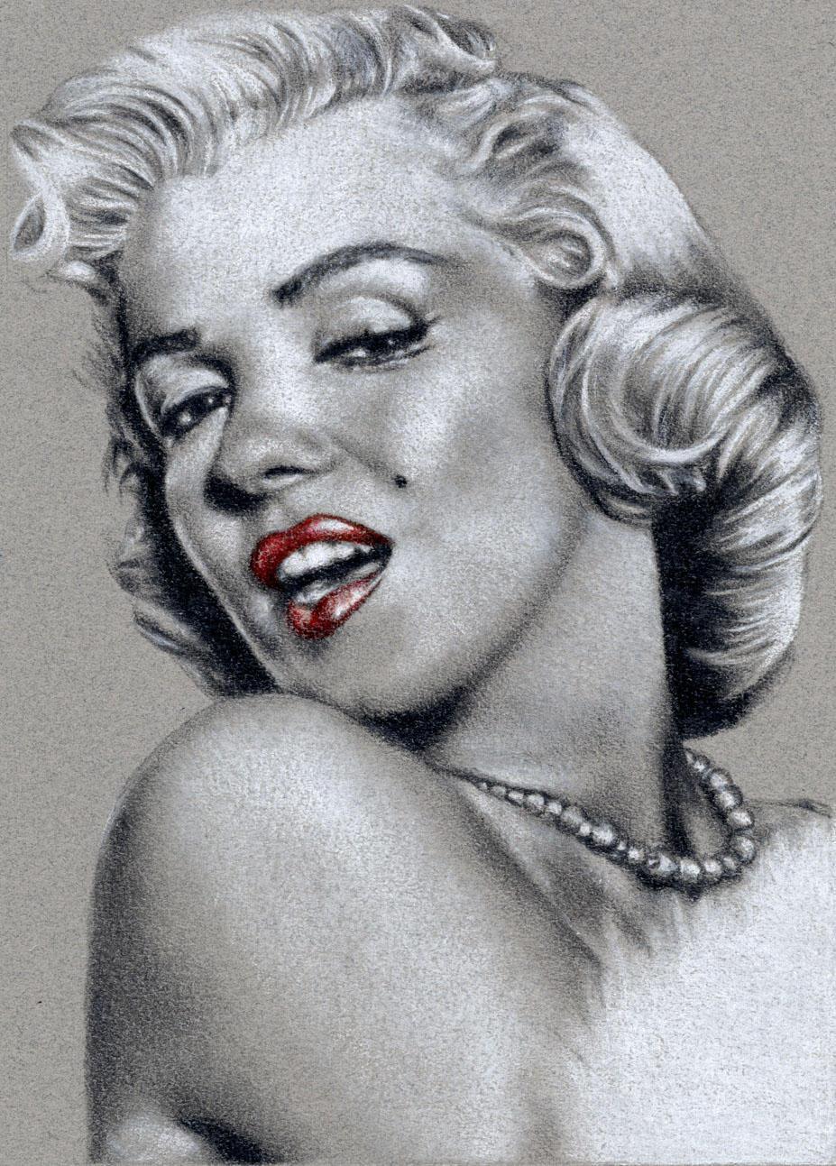 Marilyn Monroe by ElvesAteMyRamen