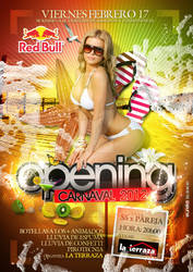 opening carnaval flyer