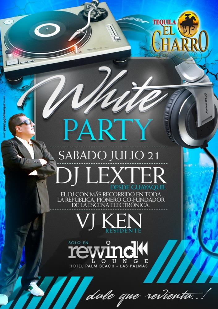 White Party Flyer design by donmoj on DeviantArt