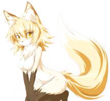 Anime Fox by ChristedByFire