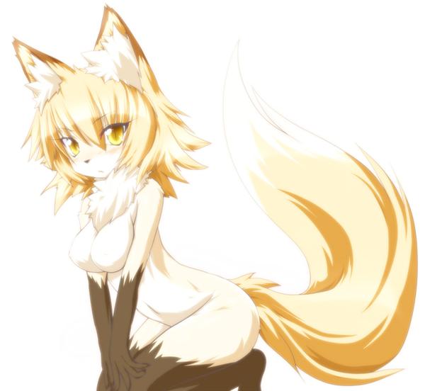 Anime Fox by ChristedByFire on