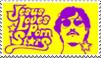 Jesus Loves Porn Stars Stamp by jerseygrl246