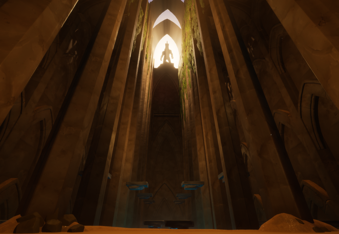 Lost Temple Environment