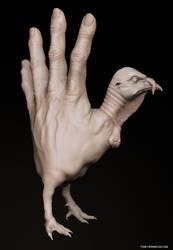 Hand Turkey by FunkyBunnies
