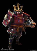 Taro the samurai (Anchors in the Drift)