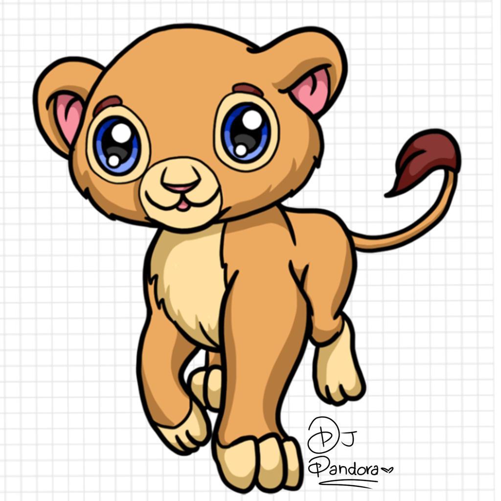 Anime Lion By DJ Pandora