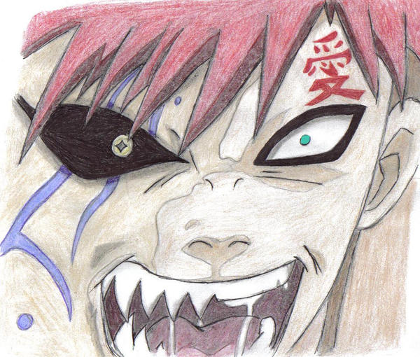 Gaara  the other side of me by delboysb91 on DeviantArt