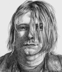 Kurt Cobain by delboysb91
