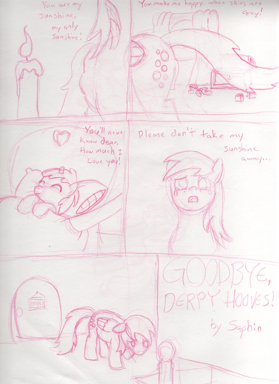 Goodbye Derpy Hooves Page 1 by Saphin