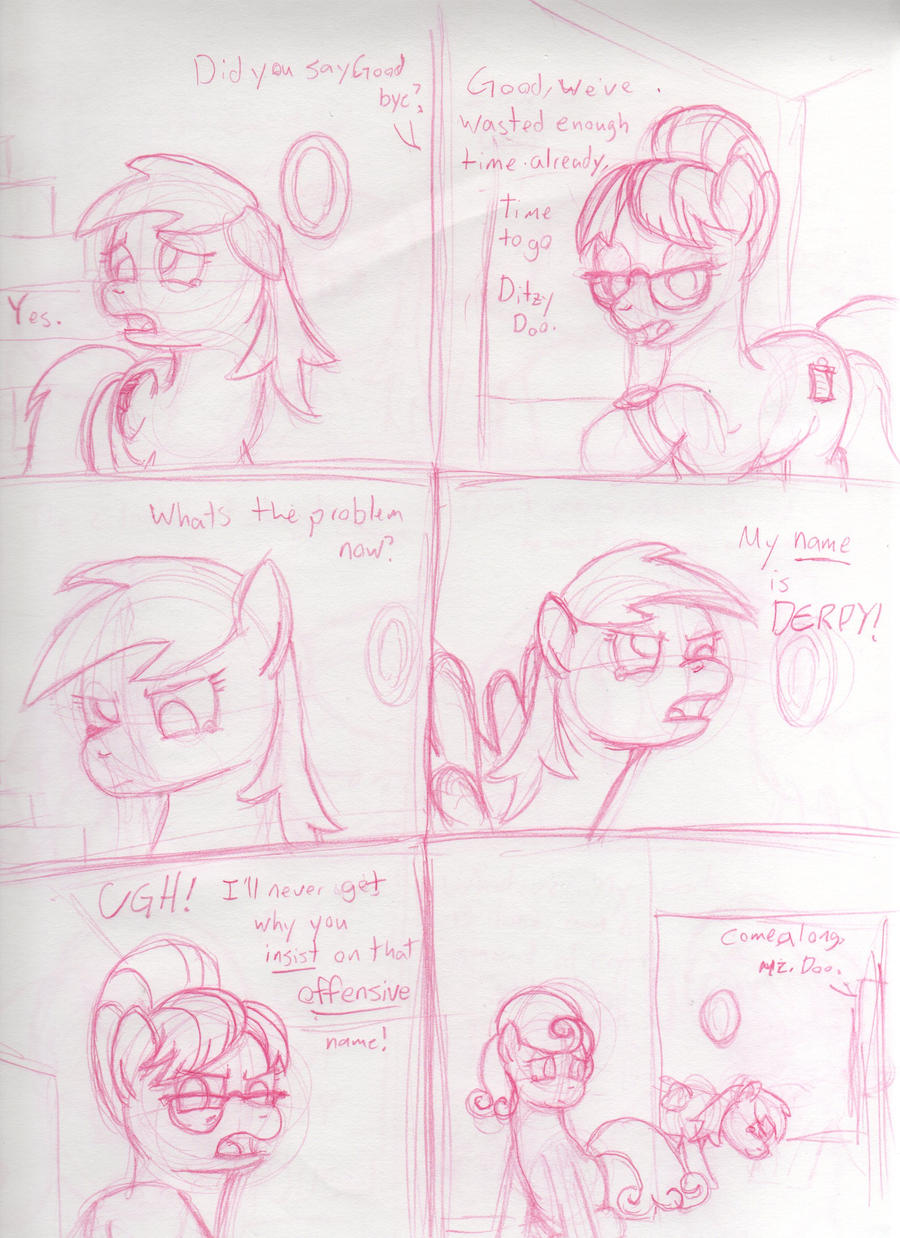 Goodbye Derpy Hooves Page 2 by Saphin