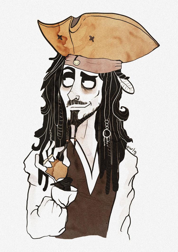 Jack Sparrow by o-w-l-y