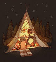 camp by viowl