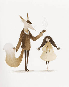 With Mr Fox