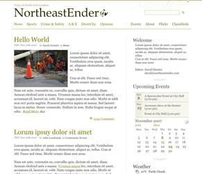 Northeastender.com by picard102