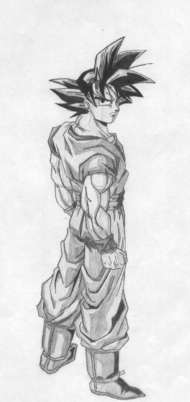 Goku cool by revix