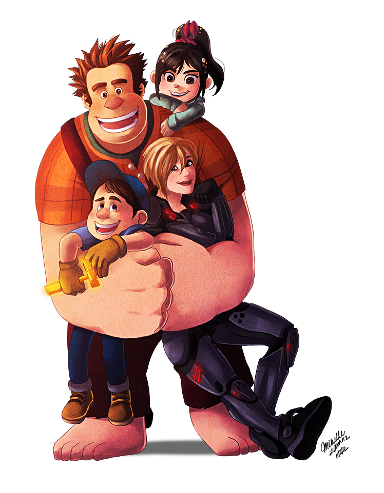 Wreck it Ralph by mewDoubled on DeviantArt